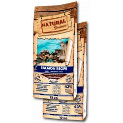 PACK AHORRO Natural Greatness Salmón Recipe Sensitive 2x12kg