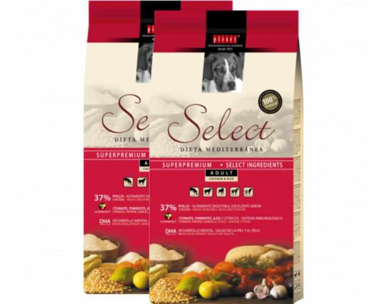 PACK AHORRO Picart Select Adult Chiken & Rice 2x15Kg