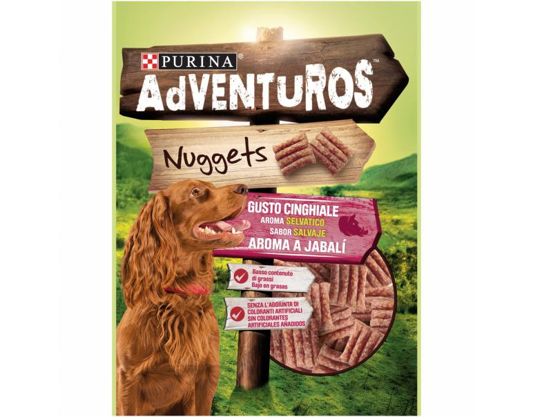 PACK AHORRO Purina Adventuros Nuggets Jabalí 8x90g