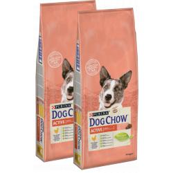 PACK AHORRO Purina Dog Chow Active 2x14Kg