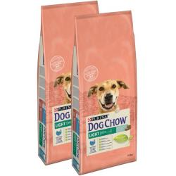 PACK AHORRO Purina Dog Chow Light 2x14Kg