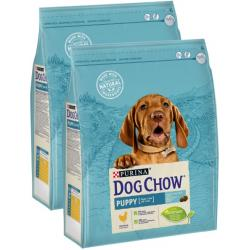 PACK AHORRO Purina Dog Chow Puppy Pollo 2x14Kg