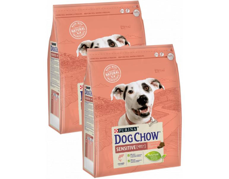 PACK AHORRO Purina Dog Chow Sensitive 2x14kg