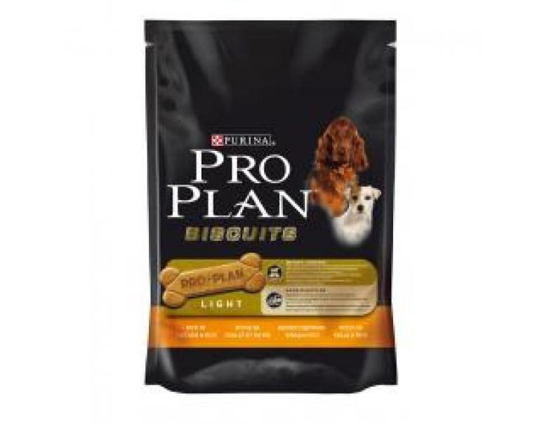 PACK AHORRO Purina Pro Plan Biscuits Light Pollo y Arroz 4x400g
