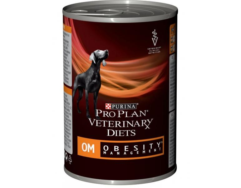 PACK AHORRO Purina Pro Plan Vet Canine OM Obesity Management Mousse Pienso para Perros 12x400g