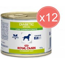 PACK AHORRO Royal Canin Diabetic Special Low Carbohydrate 12x195gr