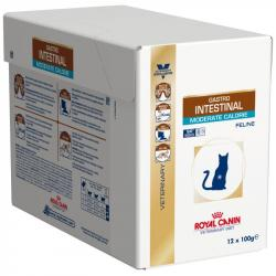 PACK AHORRO Royal Canin Feline Gastrointestinal Moderate Calorie 12x85gr
