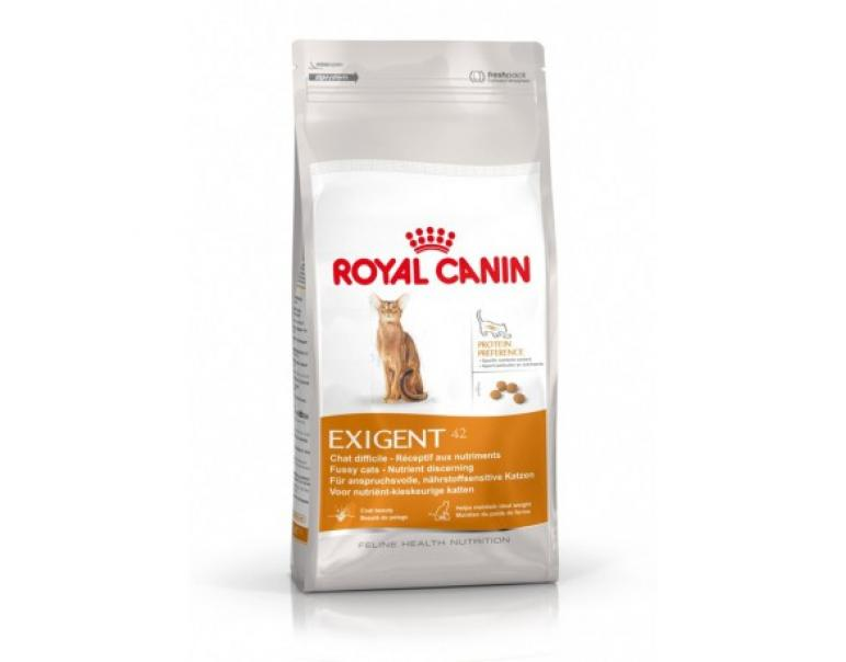 PACK AHORRO Royal Canin Feline Health Nutrition Exigent 42 Protein Preference  2 x 2 Kg