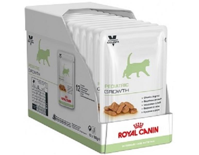 PACK AHORRO Royal Canin Feline Pedriatic Growth 12x100gr