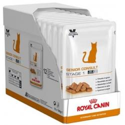 PACK AHORRO Royal Canin Feline Senior Consult Stage 1 12x100gr