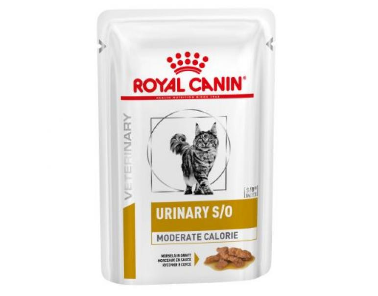 PACK AHORRO Royal Canin Feline Urinary S/O Moderate Calorie 12x85g
