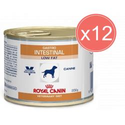 PACK AHORRO Royal Canin Gastro Intestinal Low Fat 12x200gr