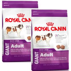 PACK AHORRO Royal Canin Giant Adult 2Unidades x 15kg