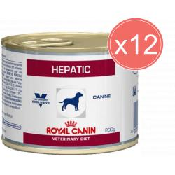 PACK AHORRO Royal Canin Canine Hepatic 12x200gr
