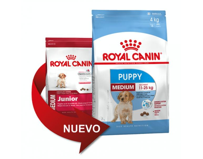 PACK AHORRO Royal Canin Medium Junior 2 x 15kg