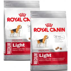 PACK AHORRO Royal Canin Medium Light 2 Unidades x 13kg