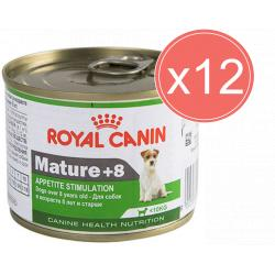 PACK AHORRO Royal Canin Mini Mature +8 12x195gr