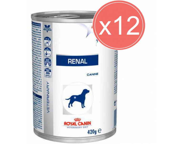 PACK AHORRO Royal Canin Renal Canine 12x410gr