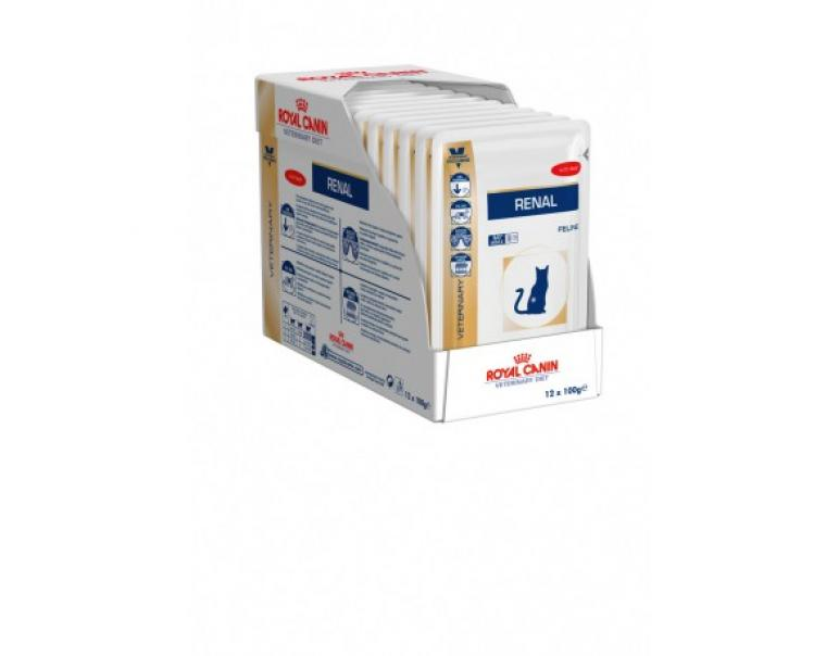 PACK AHORRO Royal Canin Veterinary Diet Renal Buey 12 x 85g