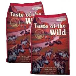 PACK AHORRO Taste of the Wild Southwest Canyon Buey & Jabalí 2x12,2Kg