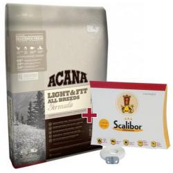 PACK ANTIPARASITARIO: Acana Light & Fit para Perros 11,4kg + Scalibor 65cm