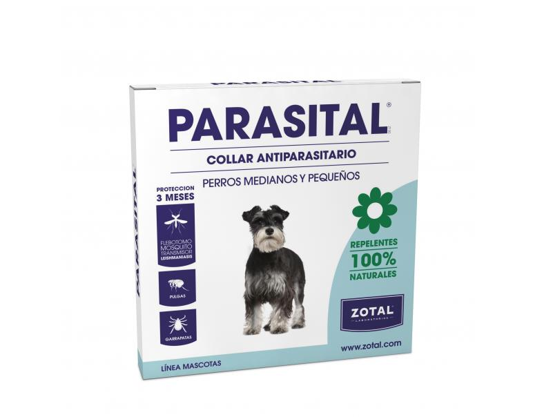 Parasital Collar Antiparasitario 100% Natural 58 cm