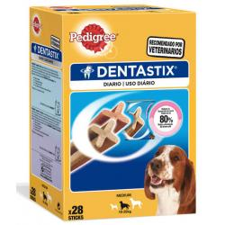 Pedigree Dentastix 28 sticks Raza Mediana