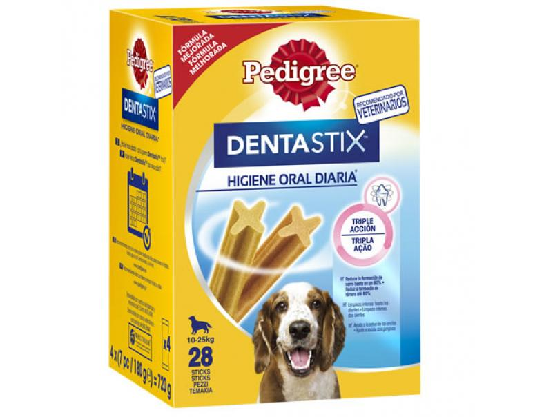 Pedigree Dentastix Diario Raza Mediana 28uds