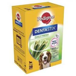 Pedigree Dentastix Frescor Diario Mediana 28uds