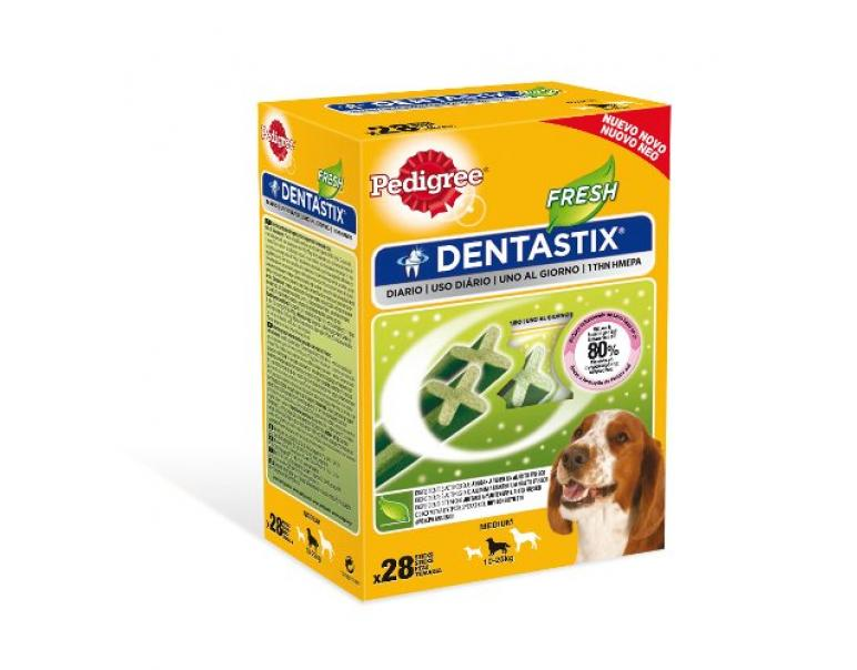Pedigree Dentastix Fresh 28 sticks Raza Mediana