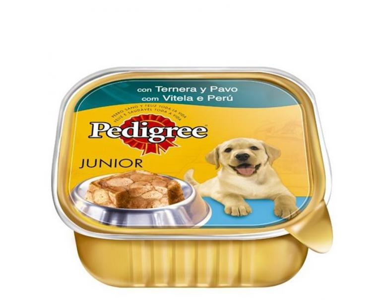 Pedigree Junior Ternera & Pavo 300g