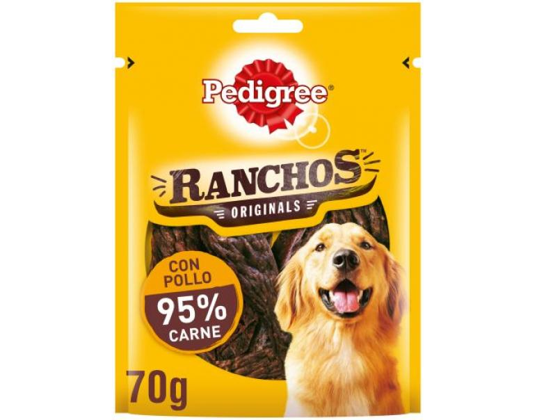 Pedigree Snack Ranchos Originals de Pollo 70g