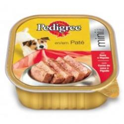 Pedigree Tarrina Mini Buey & Hígado 300g