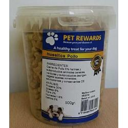 Pet Rewards Cubo Huesitos de Pollo 500g