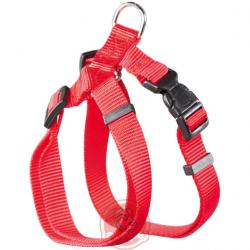 Petral nylon basic rojo