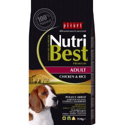 Picart Nutribest Adult Pollo y Arroz 15 kg