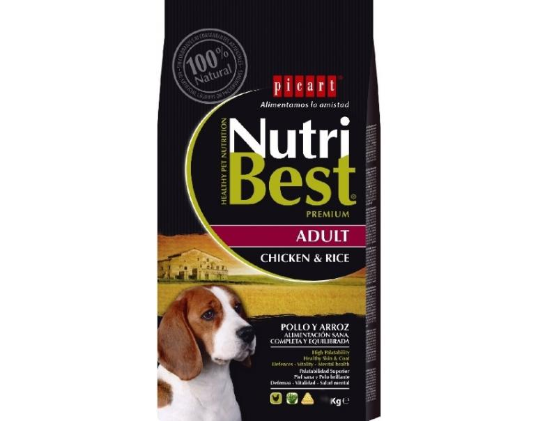 Picart Nutribest Adult Pollo y Arroz 3kg
