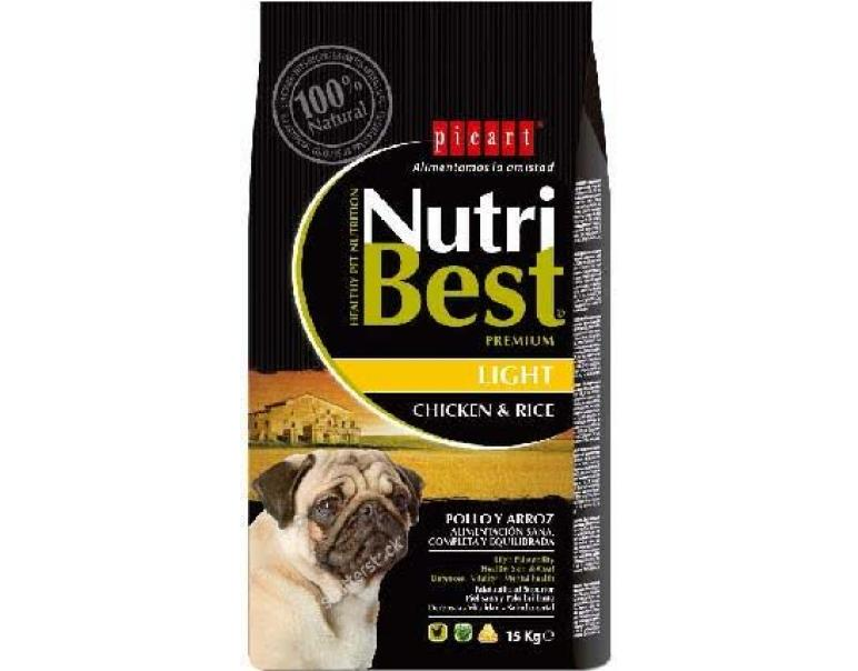 Picart Nutribest Dog Light 15kg