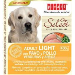 Picart Select Adulto Light Pavo/Pollo/Verd/Arroz 400g