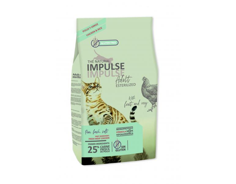 The Natural Impulse Esterilizados Pollo 2kg