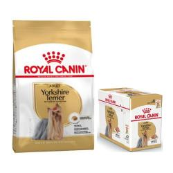 Royal Canin Yorkshire Terrier 500 g + 12 x 85 g