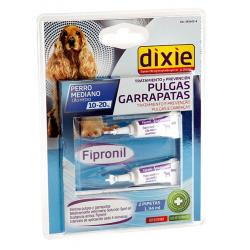 Dixie Fipronilo Perros Medianos 2 Pipetasx1.3ml