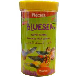 Placias Escamas Guppies 250ml
