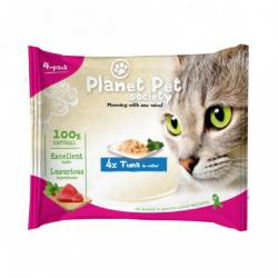 Planet Pet Gato Pouch Pack Atún 4x50g