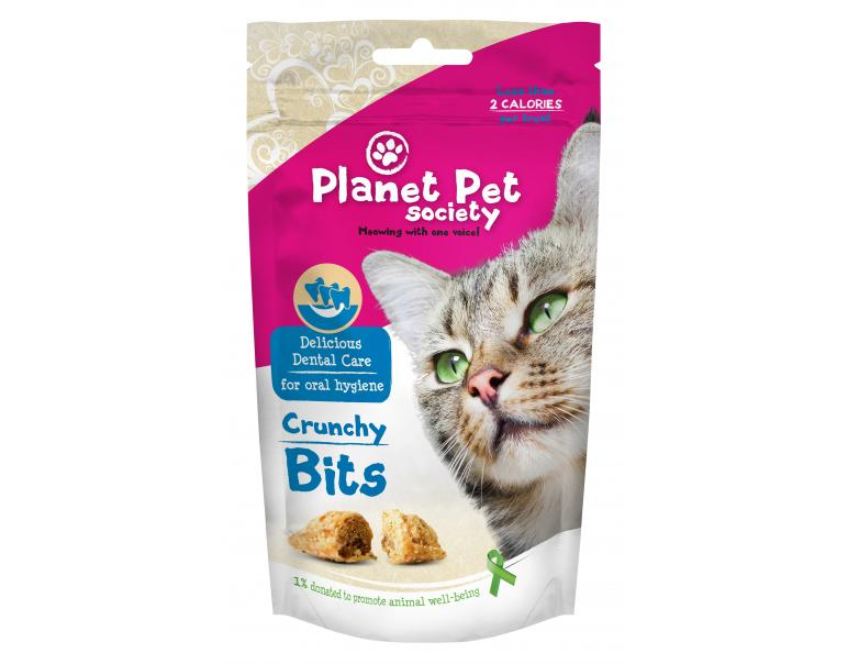 Planet Pet Gato Snack Bocadillos Dental 40 g (18 Unidades)