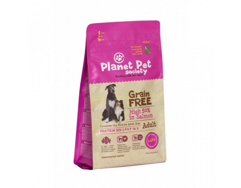 Planet Pet Grain Free Salmón y Patatas 2,5kg