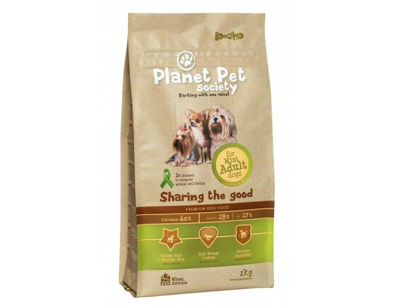 Planet Pet Mini Adult Pollo y Arroz 2kg