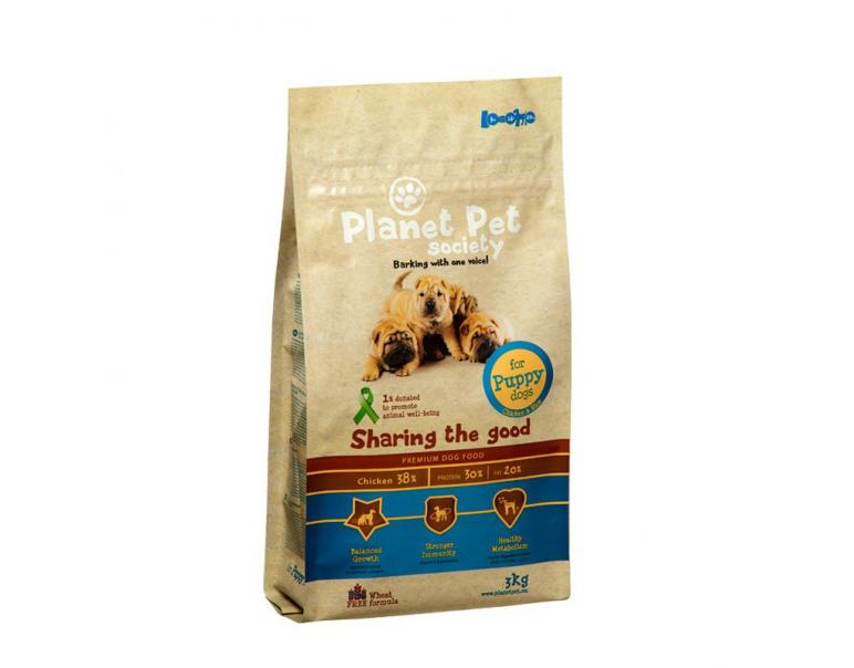 Planet Pet Puppy Pollo y Arroz 3kg