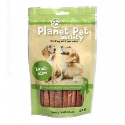 Planet Pet Snack Tiras Cordero 80g
