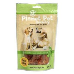 Planet Pet Snack Tiras Pato 100g